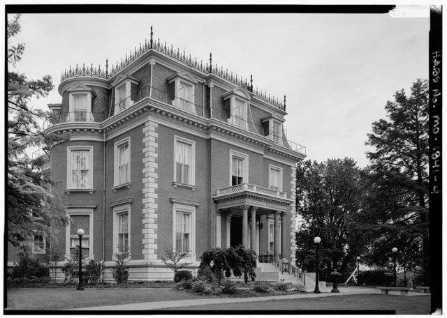 Governor's Mansion, 100 Madison Street, Jefferson City, Cole County, MO