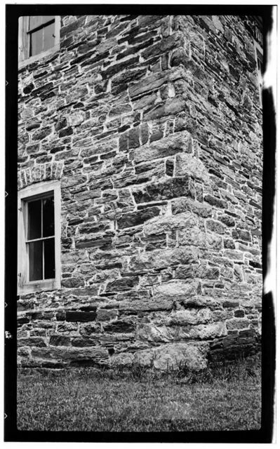 Grace Lower Stone Church, State Routes 1221 & 2335, Rockwell, Rowan County, NC