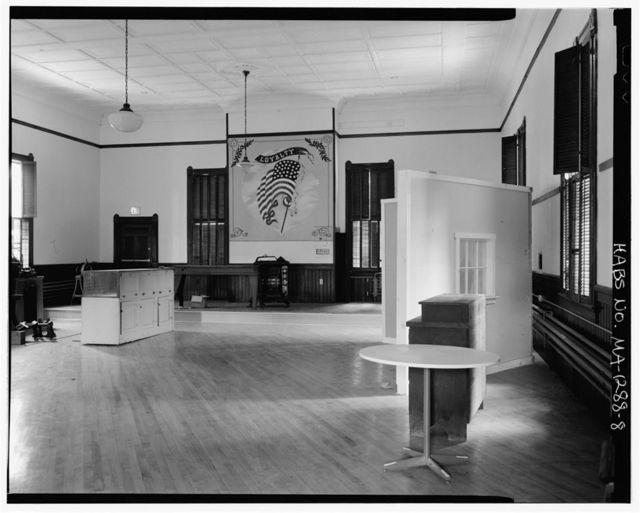 Grand Army of the Republic Memorial Hall, 14 Prospect Street, Orange, Franklin County, MA