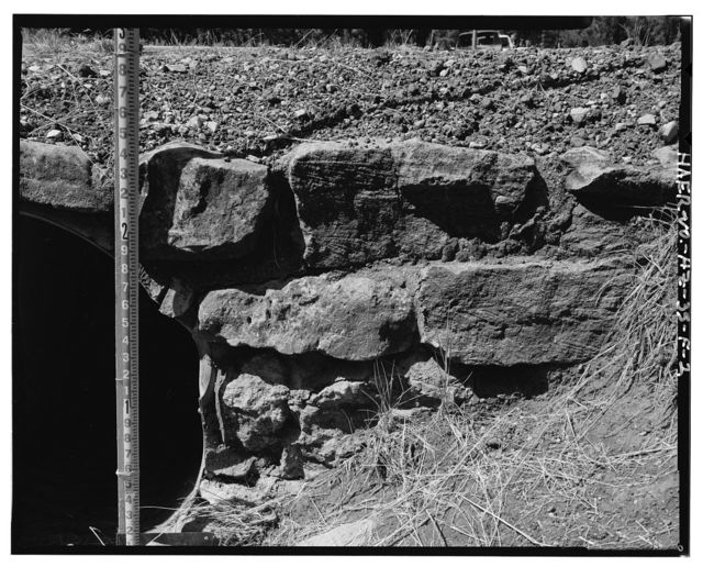 Grand Canyon National Park Roads, Apache Street Headwall No. 2, Southwest corner of intersection of Center Road and Apache Street, Grand Canyon Village, Coconino County, AZ