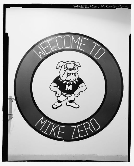 Grand Forks Air Force Base Painted Murals, Missile Alert Facility Mike-Zero, Grand Forks, Grand Forks County, ND