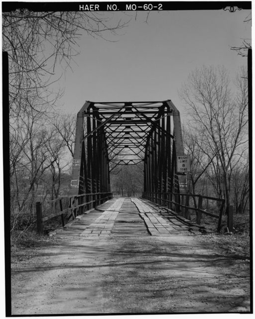 Grand River Bridge, Spanning Grand River, on County Road No. 459, Gentryville, Gentry County, MO