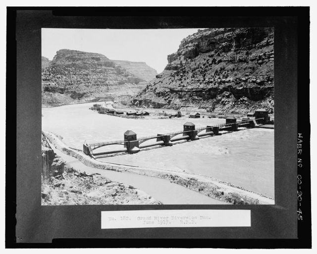 Grand Valley Diversion Dam, Half a mile north of intersection of I-70 & Colorado State Route 65, Cameo, Mesa County, CO