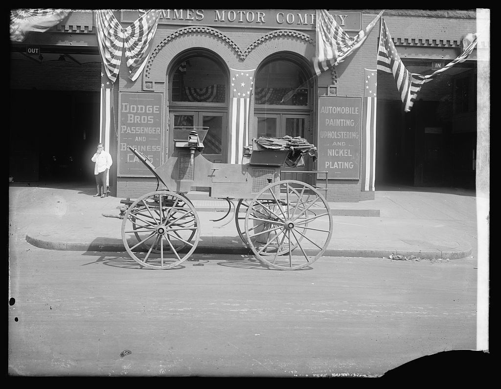 Grant carriage, 4/27/22