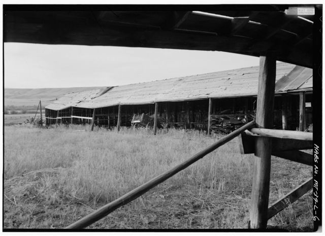 Grant-Kohrs Ranch, Cow Shed, Highway 10, Deer Lodge, Powell County, MT
