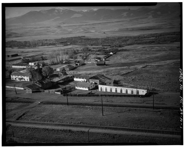 Grant-Kohrs Ranch, Dairy, Highway 10, Deer Lodge, Powell County, MT