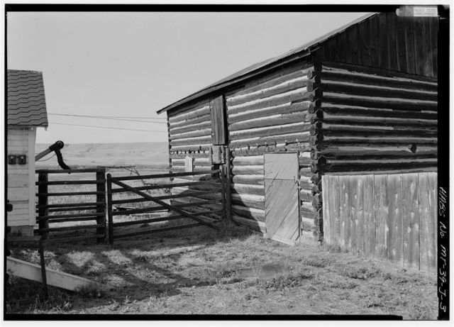 Grant-Kohrs Ranch, Draft Horse Barn, Highway 10, Deer Lodge, Powell County, MT