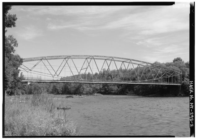 Grant Road Bridge, Spanning Raquette River at Grant Road, Raymondville, St. Lawrence County, NY