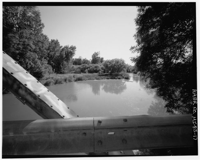 Grassmere Road Bridge, Spanning Pinnebog River, Caseville, Huron County, MI