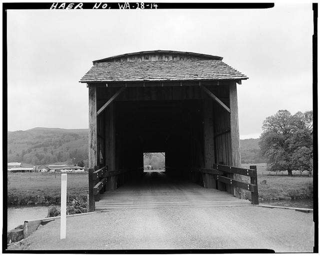 Grays River Covered Bridge, Worrel Road spanning Grays River, Grays River, Wahkiakum County, WA