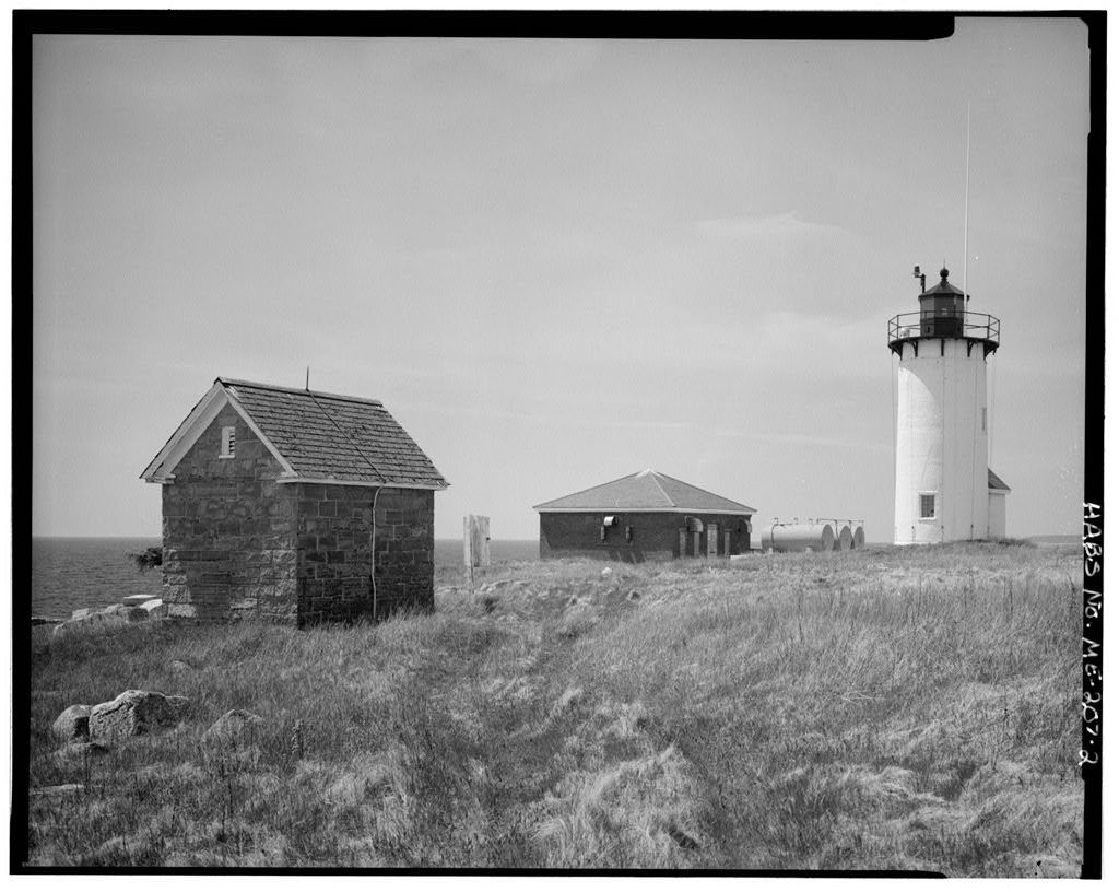 Great Duck Island Light Station, At southern tip of Great Duck Island southeast of Bass Harbor & northeast of Frenchboro, Frenchboro, Hancock County, ME