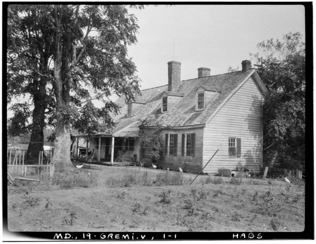 Great Mills Road (House), Saint Mary's Creek vicinity, Great Mills, St. Mary's County, MD