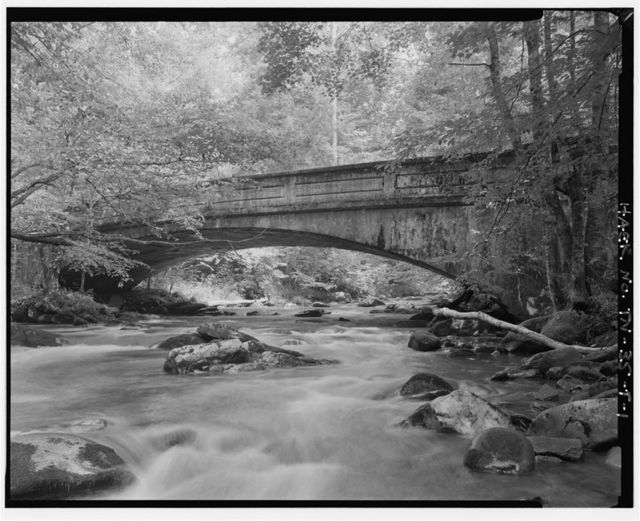 Great Smoky Mountains National Park Roads & Bridges, Luten Bridges, Gatlinburg, Sevier County, TN