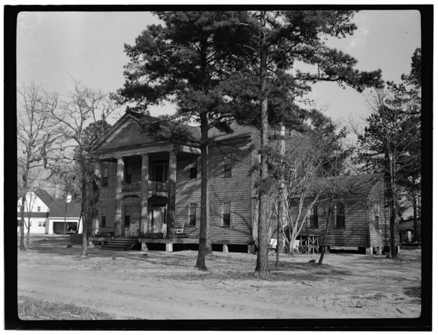 Greek Revival House, State Route 1198  & NC Route 87, Elizabethtown, Bladen County, NC