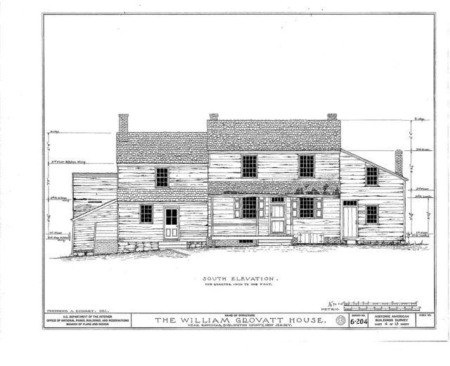 Green-Grovatt House, Rancocas, Burlington County, NJ