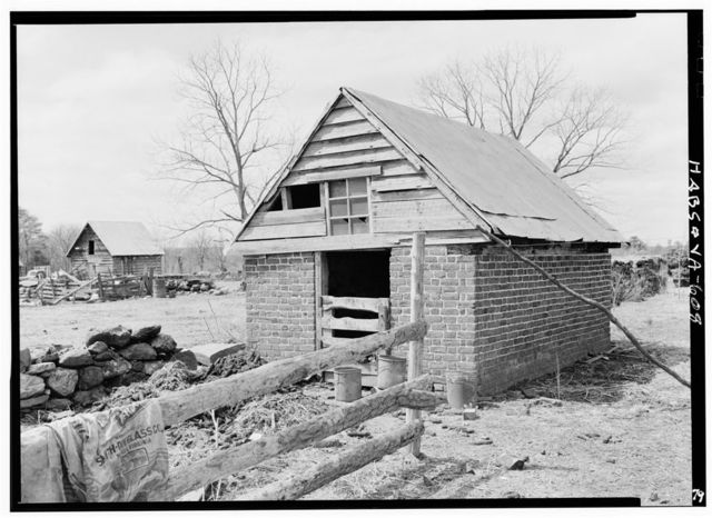 Green Hill Plantation, Duck House, State Route 728, Long Island, Campbell County, VA