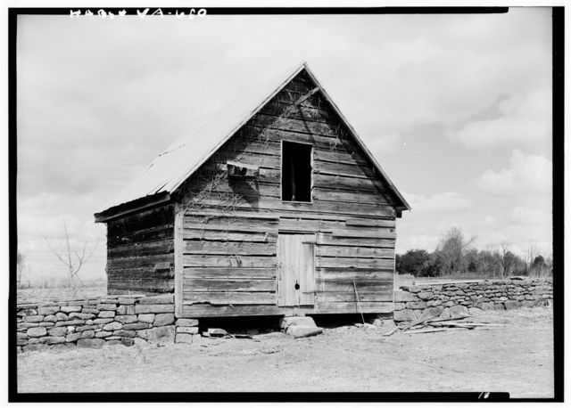Green Hill Plantation, Frame Barn, State Route 728, Long Island, Campbell County, VA