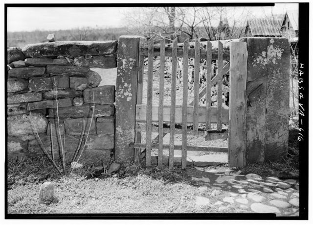 Green Hill Plantation, Gateposts, State Route 728, Long Island, Campbell County, VA