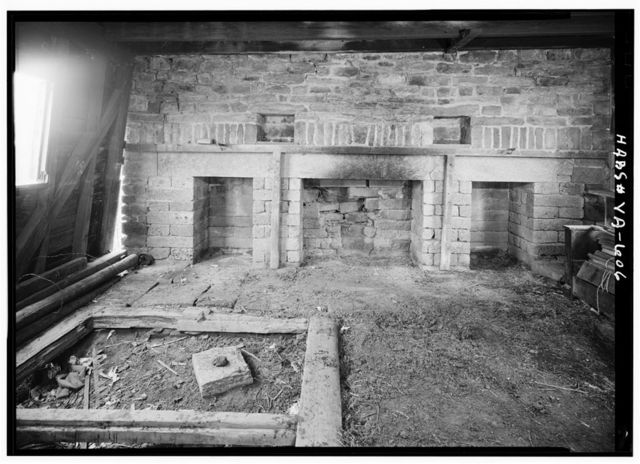 Green Hill Plantation, Kitchen, State Route 728, Long Island, Campbell County, VA