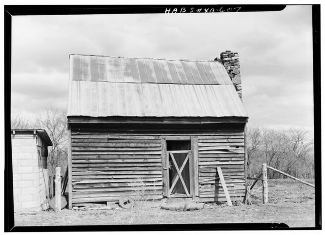 Green Hill Plantation, Slave Quarters, State Route 728, Long Island, Campbell County, VA