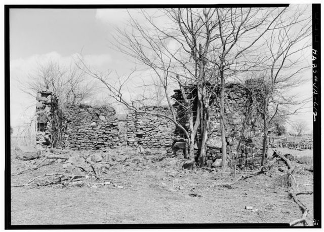 Green Hill Plantation, Stable (Ruins), State Route 728, Long Island, Campbell County, VA