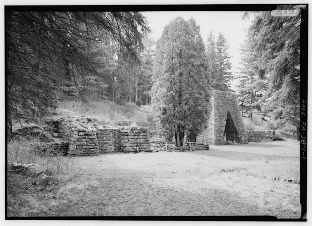 Greenwood Furnace, East of McAlevy's Fort on State Route 305, McAlevys Fort, Huntingdon County, PA