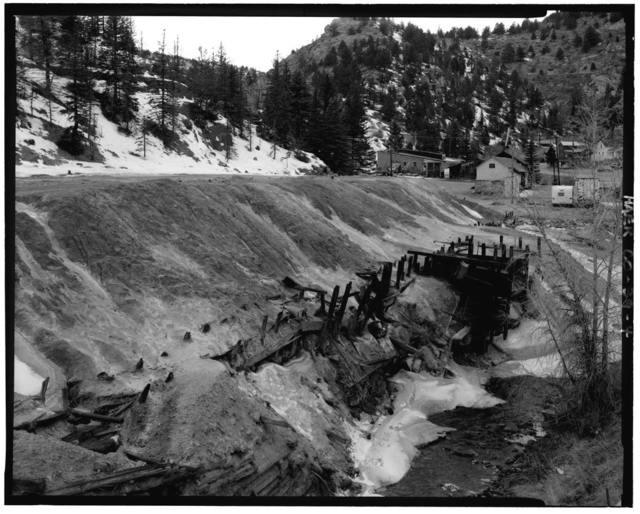 Gregory Tailings (Ruins), State Highways 269 & 119, Black Hawk, Gilpin County, CO