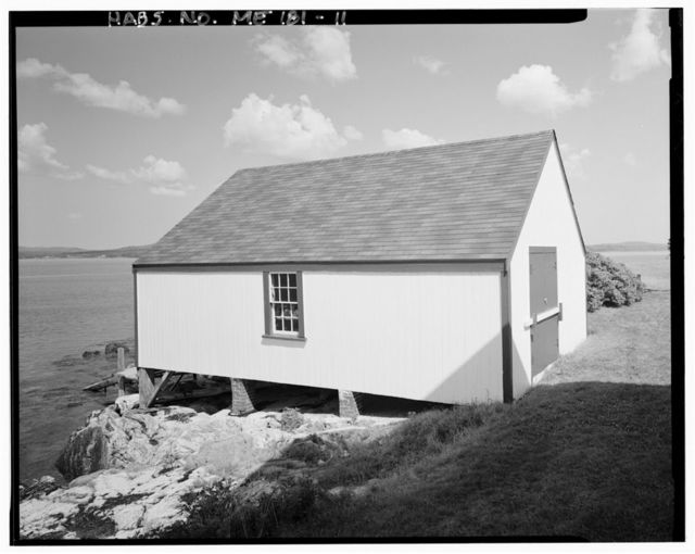Grindle Point Light Station, Western end of Ferry Road on Grindle Point, Islesboro, Waldo County, ME