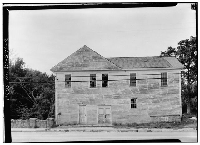Grist Mill, State Route 3, East Greenwich, Kent County, RI