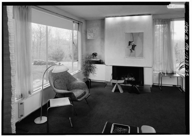 Gropius House, 68 Baker Bridge Road, Lincoln, Middlesex County, MA