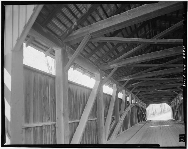 Gross Covered Bridge, Spanning Middle Creek, Route 574, Beaver Springs, Snyder County, PA