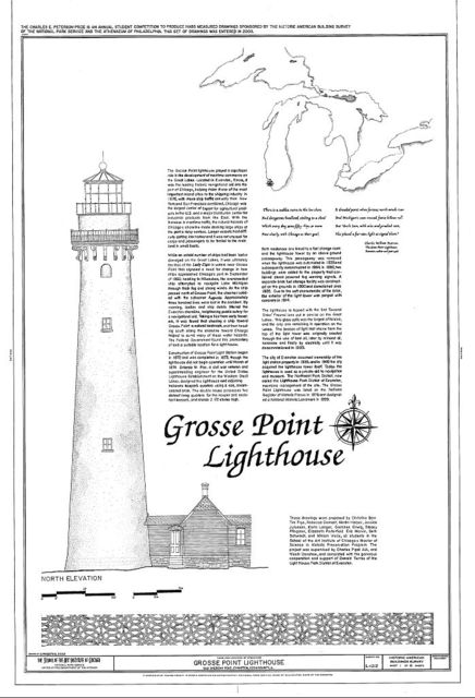 Grosse Point Lighthouse, 2601 Sheridan Road, Evanston, Cook County, IL
