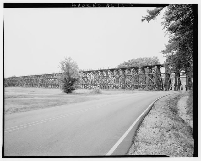 Gulf, Mobile & Ohio Railroad Bridge, Spans Black Warrior River between Northport & Tuscaloosa, Tuscaloosa, Tuscaloosa County, AL