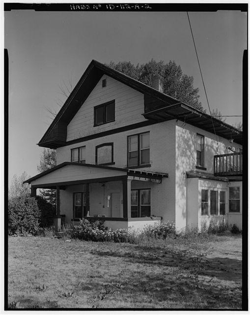 Gunnarson Farmstead, House, U.S. Highway 20 at New Sweden, Idaho Falls, Bonneville County, ID