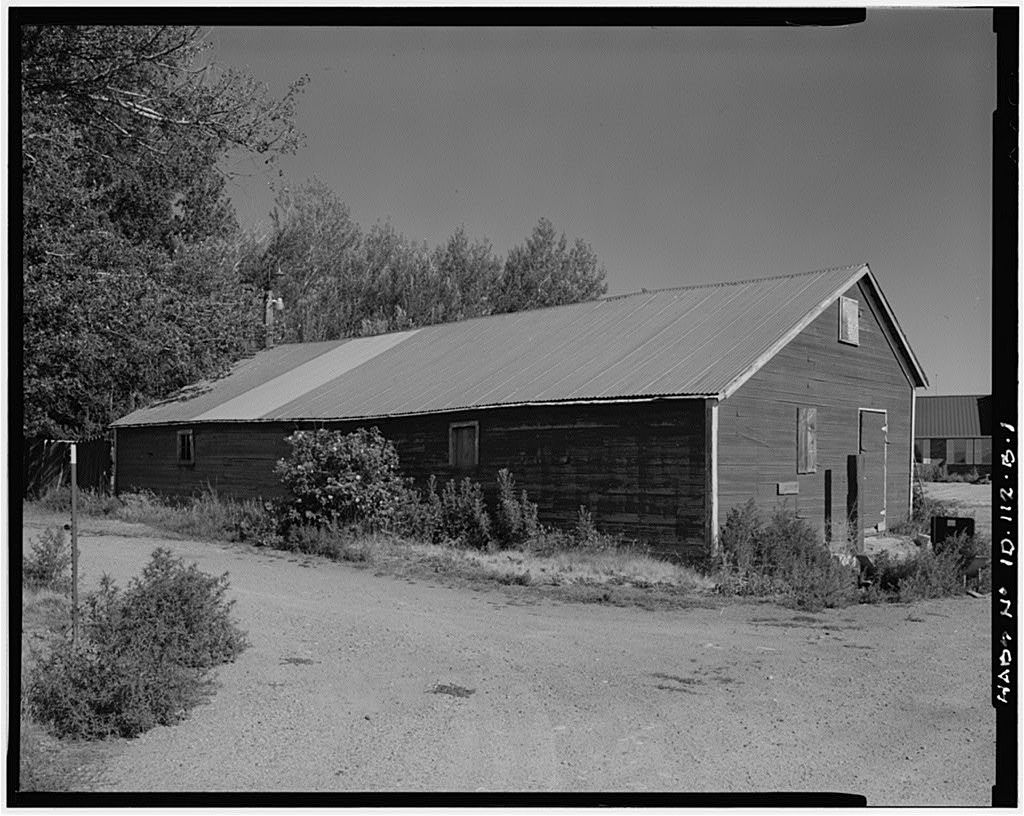 Gunnarson Farmstead, Implement Shed, U.S. Highway 20 at New Sweden, Idaho Falls, Bonneville County, ID