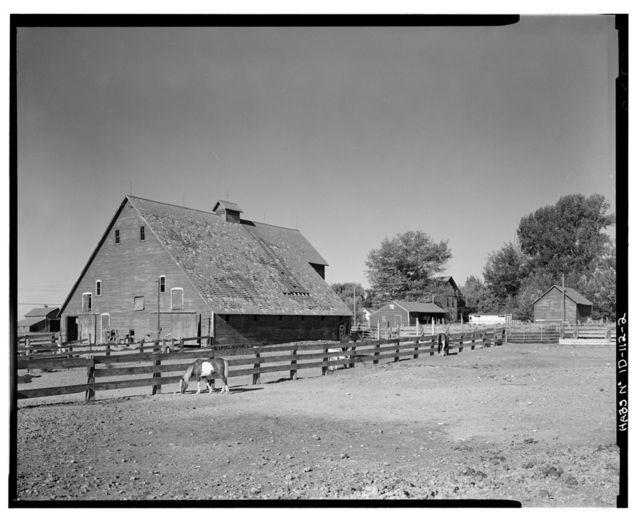 Gunnarson Farmstead, U.S. Highway 20 at New Sweden, Idaho Falls, Bonneville County, ID