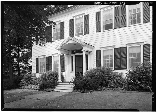Gurdon Perry House, 780 Harbor Road, Southport, Fairfield County, CT