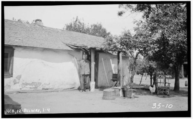 Gustav Rohrich Sod House, Bellwood, Butler County, NE