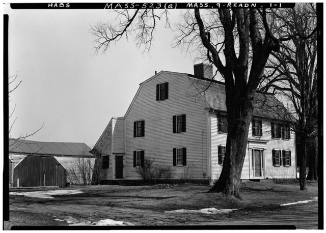 Guy M. Crosby Jr. House, North Reading, Middlesex County, MA