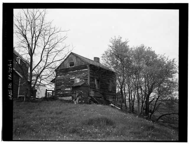 Haag-Haak Log House, State Route 183 (Jefferson Township), Bernville, Berks County, PA