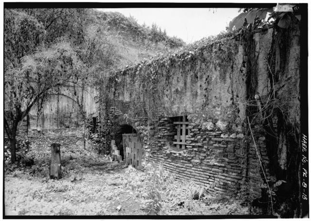 Hacienda Azurarera Santa Elena, Sugar Mill Ruins, 1.44 miles North of PR Route 2 Bridge Over Rio De La Plata, Toa Baja, Toa Baja Municipio, PR