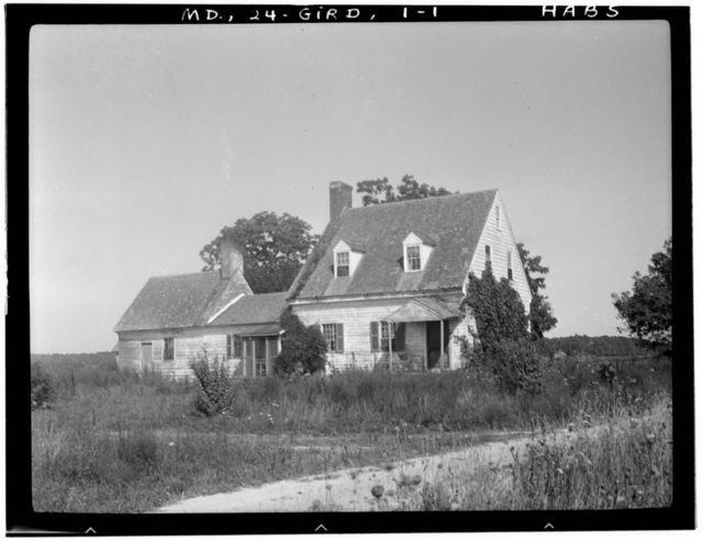 Hall House, Cherrix Road, Girdletree, Worcester County, MD