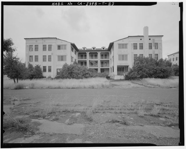 Hamilton Field, Air Corps Dormitories, Fifth & Sixth Streets between Escolta & Hangar Avenues, Novato, Marin County, CA