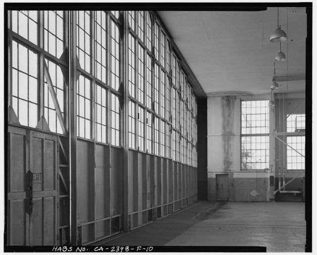 Hamilton Field, Hangar No. 9 & Air Corps Shop, Northwest end of Hangar Avenue, Novato, Marin County, CA