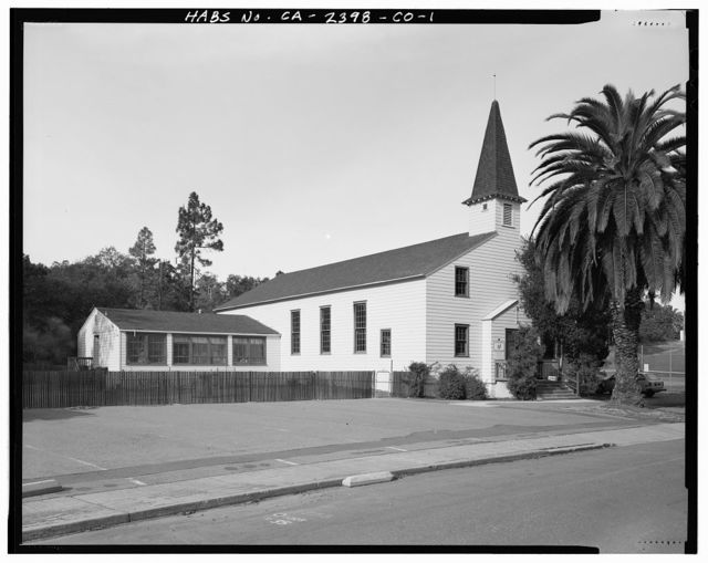 Hamilton Field, Post Chapel, Escolta Avenue at Seventh Street, Novato, Marin County, CA