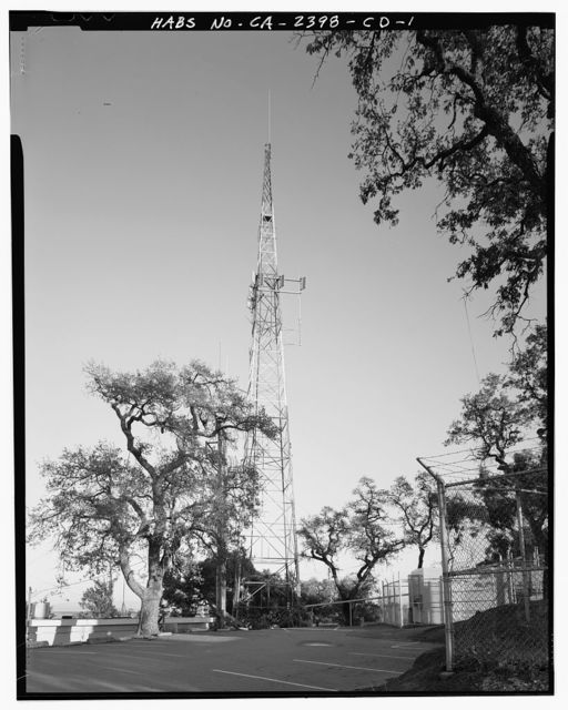Hamilton Field, Radio Signal Tower, Water Tower Road, Novato, Marin County, CA