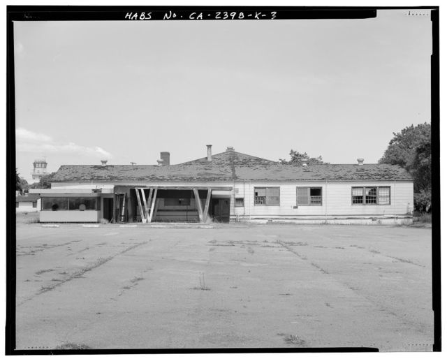 Hamilton Field, Service Club, Sixth Street between Escolta & Hangar Avenues, Novato, Marin County, CA