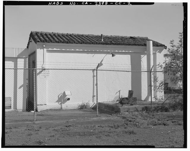 Hamilton Field, Sewage Pumping Station, East of San Pablo Avenue & Hangar Avenue intersection, Novato, Marin County, CA
