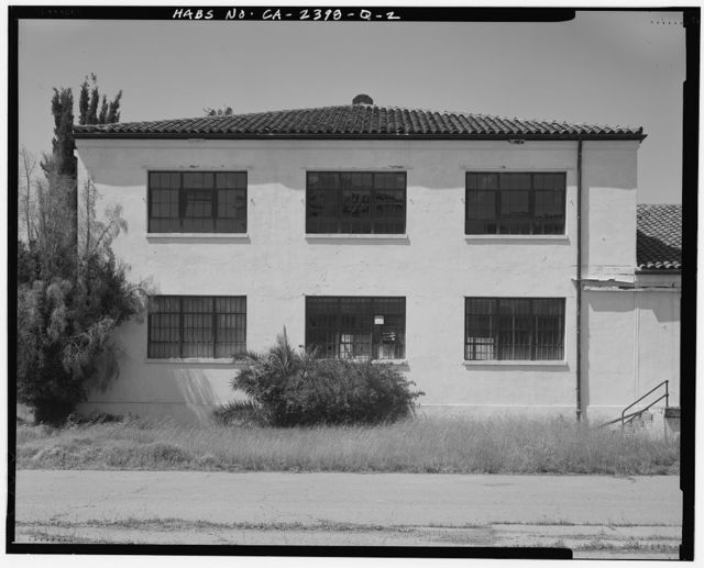 Hamilton Field, Warehouse Type B, Escolta Avenue & Fourth Street, Novato, Marin County, CA
