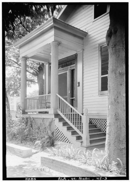 Hammond-Willoughby House, Saint Michael & Hamilton Streets, Mobile, Mobile County, AL